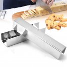 Bakeey Stainless Steel Cranberry Cookies Mould U Shape Biscuit Bread Mold Baking Mold Tools