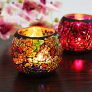 Mosaic Candle Holder Romantic Candlelight Dinner Wedding Party Candle Lamp Home Decoration