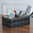 Desktop Storage Baskets Finishing Box Home Living Room Coffee Table Remote Control