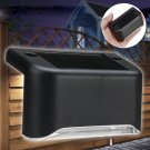 Solar Powered LED Light Outdoor Garden Security Wall Light Fence Post Lamp