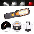 Super Bright COB LED Work Camping Light USB Rechargeable Flexible Magnetic Inspection Lamp with Hook