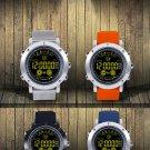 EX19 Smart Bracelet Metal Case Full View Luminous Dial Pedometer Stopwatch Fitness Band Water Resist
