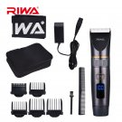 RIWA RE-6501 Rechargeable Hair Clipper Titanium Ceramic Blade Razor Beard Trimmer Shaver Barber Elec