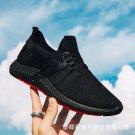 Season New Casual Fashion Sports Men's Shoes Old Beijing Cloth Shoes Flying Woven Trend Soft Bottom