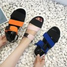 Season New Fashion Fish Mouth Sandals Female Sponge Cake Thick Elastic Band Flat Bottom Sports Sanda
