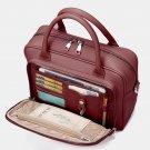 Brenice Women Designer Travel Laptop Bag Solid Crossbody Bag