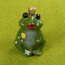 Frog Prince Porcelain Garden Ornament
