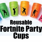 Reusable Fortnite Party Cups