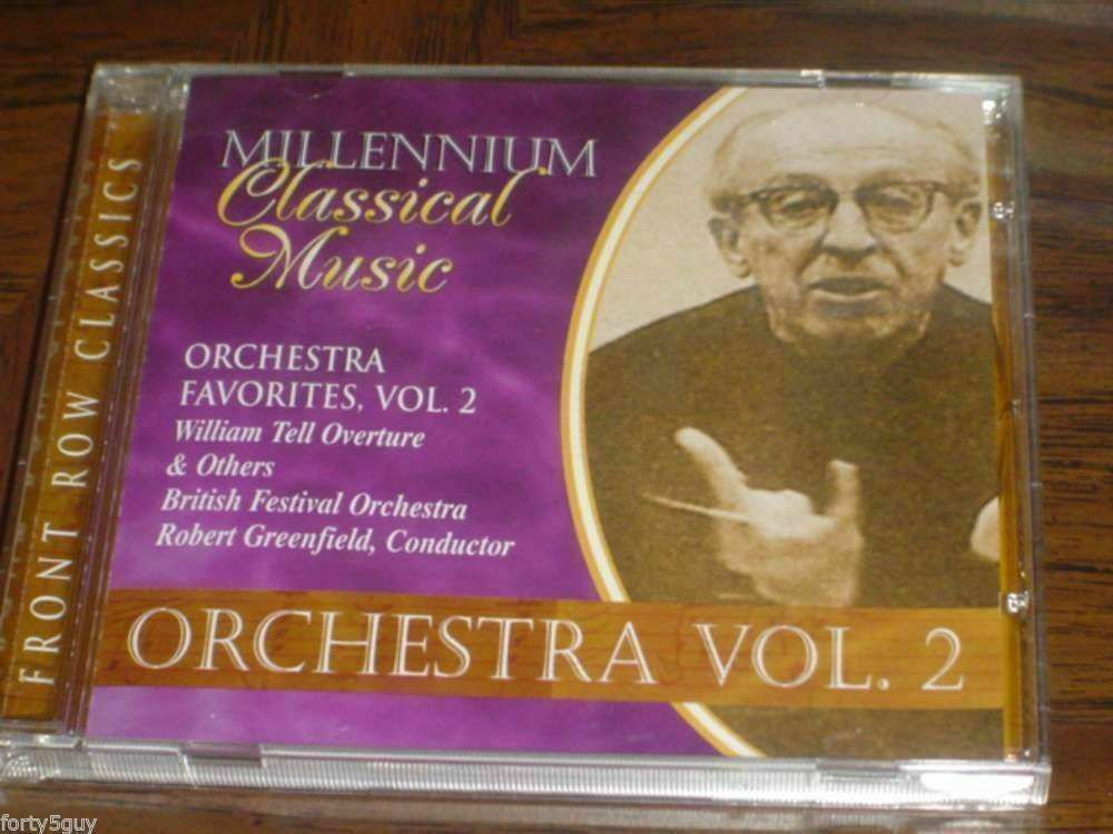 "British Festival Orchestra: ""Orchestra Favorites Vol 2"" CD - Excellent Condition"