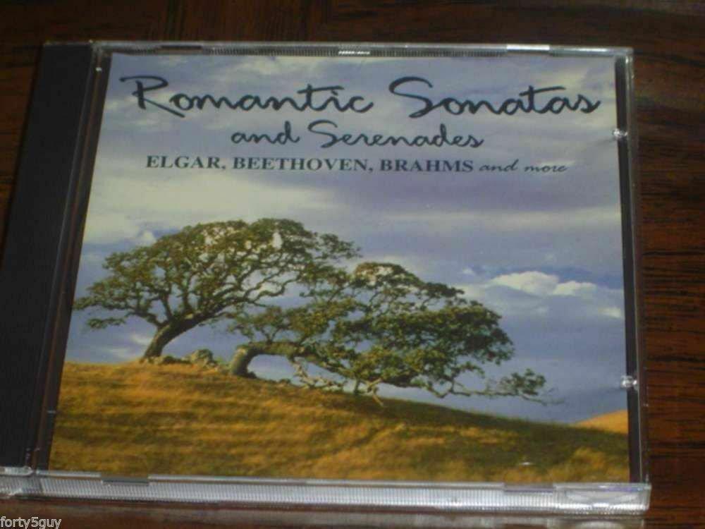 """""""Romantic Sonatas and Serenades: Elgar, Brahms, etc"""" CD - Excellent Condition!"""