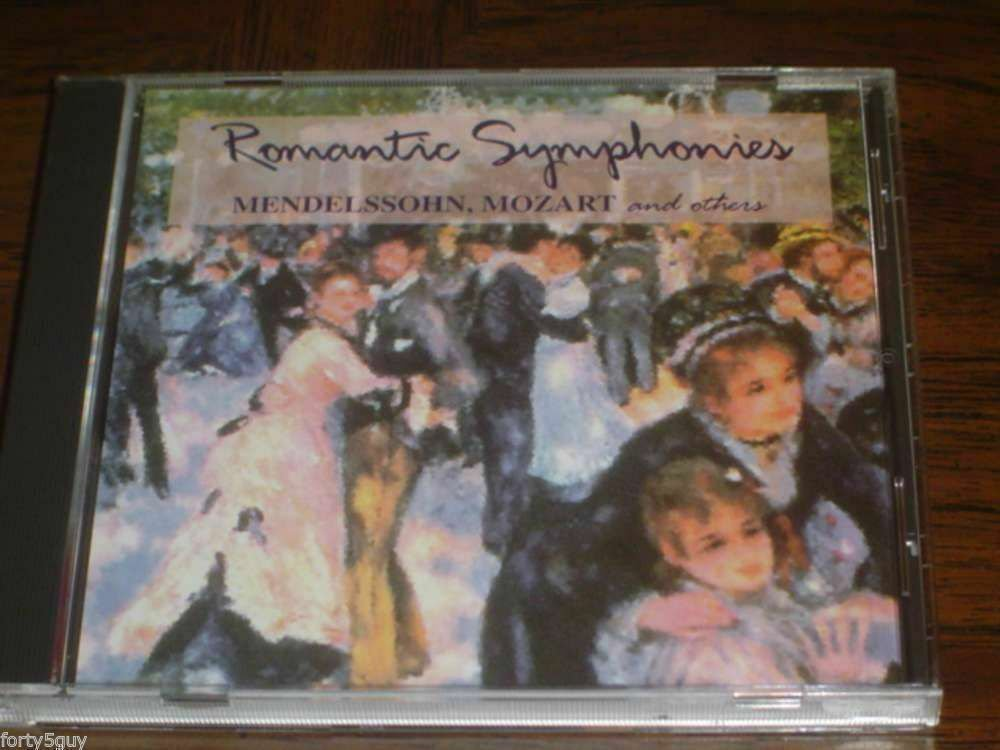 """Romantic Symphonies: Mendelssohn, Mozart & More"" CD - Excellent Condition!"
