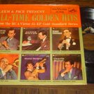 """""""Gleem & Pace Present All Time Golden Hits – Big Bands"""" - '57 EP w-nice cover!"""