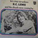 """D. C. Lewis: """"Let's Stop Our Palaver"""" - Rare '71 Dutch Gospel Rock - NM w-PS!"""