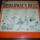 """This Is Broadway's Best - A Two-Record Set Of Great Show-Stoppers"" - '61 2LP/EX"