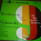 """Stokowski: """"Beethoven: Symphony No. 9 - Choral"""" - '70 LP - Near Mint in shrink!"""