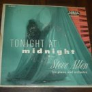 "EP Cover ONLY: Steve Allen: ""Tonight At Midnight"" - from his rare '55 double EP"