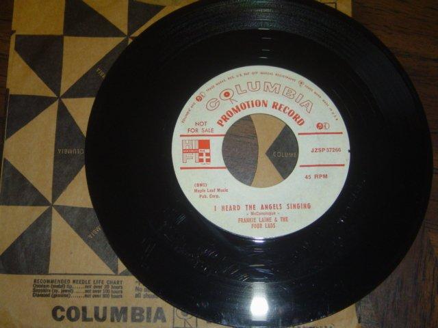 "Frankie Laine & Four Lads: ""I Heard The Angels Singing"" - rare '55 Xmas Seals 45"