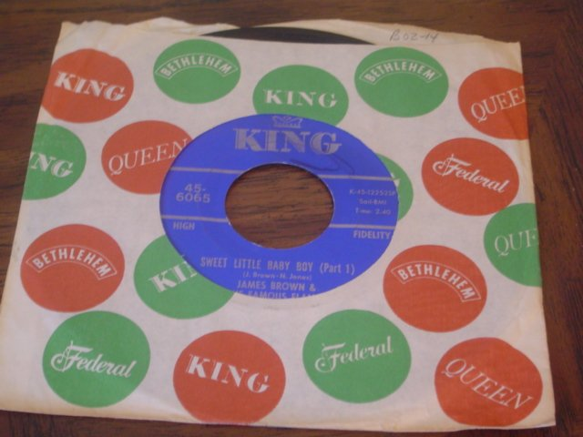 """James Brown: """"Sweet Little Baby Boy (Pts 1 & 2)"""" - '66 Holiday hit - Near Mint!"""