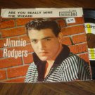 "Jimmie Rodgers: ""Are You Really Mine"" / ""The Wizard"" - '58 Teener hit w-Pic Slv!"