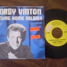 """Bobby Vinton: """"Coming Home Soldier"""" - his '66 Pop hit w-Pic Sleeve - nice set!"""