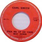 "Carl Smith: ""Pick Me Up On Your Way Down"" / ""Bonaparte's Retreat"" - rare - pl NM"