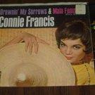 """Connie Francis: """"Drownin' My Sorrows"""" & """"Mala Femmena"""" - Nr Mt w-EX Pic Slv!"""