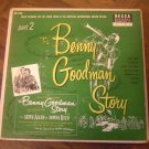 "Benny Goodman: ""The Benny Goodman Story Part 2"" double EPs - nice - plays well!"