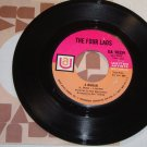 """The Four Lads: """"A Woman"""" / """"Where Do I Go (from """"Hair)"""" - rare '68 - plays well!"""