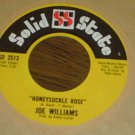 "Joe Williams: ""Honeysuckle Rose"" / ""Everybody Wants To Be Loved: - '66 - Nr Mint"