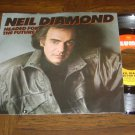 "Neil Diamond: ""Headed For The Future"" / ""Angel' '86 hit - VG+ w-EX Pic Sleeve!"
