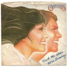 "Picture Sleeve ONLY: Carpenters: ""Touch Me When We're Dancing"" - from '81 - nice sleeve, no splits!"