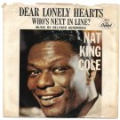 "Picture Sleeve ONLY: Nat King Cole: ""Dear Lonely Hearts"" from original '62 hit!"