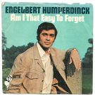 "Picture Sleeve ONLY: Engelbert Humperdinck: ""Am I That Easy To Forget - from '68!"