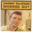 "Picture Sleeve ONLY: Johnny Tillotson: ""Worried Guy"" - '64 hit - nice sleeve!"