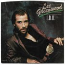 """Picture Sleeve ONLY: Lee Greenwood: """"I.O.U."""" - from his '83 hit - Near Mint!"""