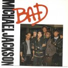 "Picture Sleeve ONLY: Michael Jackson: ""Bad"" - from his '87 hit - Near Mint!"