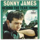 """Picture Sleeve ONLY: Sonny James: """"Behind The Tear"""" / """"Runnin'"""" - '65 - nice!"""