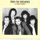 "Picture Sleeve ONLY: Mike & The Mechanics: ""All I Need Is A Miracle"" - EX!"