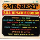 """Little LP Cover ONLY: Bill Black's Combo: """"Mr. Beat"""" - from his rare '65 - EX!"""