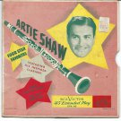 """EP Cover ONLY: Artie Shaw: """"Four Star Favorites"""" - rare '49 - nice cover!"""