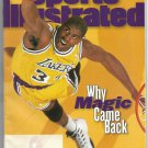 """Sports Illustrated Feb. 12, 1996: """"Why Magic Came Back"""" - New Condition!"""