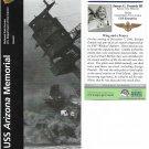 Vintage 2006 Brochure & Ticket - USS Arizona Memorial Pearl Harbor HI - New!