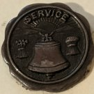 Vintage 1940's Ohio Bell Telephone Service Pin - Very Good Condition!