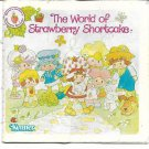 Vintage 1980's Strawberry Shortcake Family Brochure ONLY- Very Good Condition!