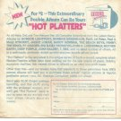 Company Sleeve ONLY: Warner Reprise Records promotional for Hot Platters '71 LP!