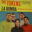 "The Tokens: ""La Bomba"" / ""A Token Of Love"" - '62 hit w-Picture Sleeve - Nr Mint!"
