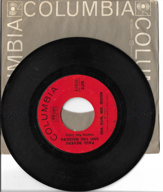 "Paul Revere & The Raiders: ""Mr. Sun, Mr. Moon"" - their '69 hit - pl very well!"