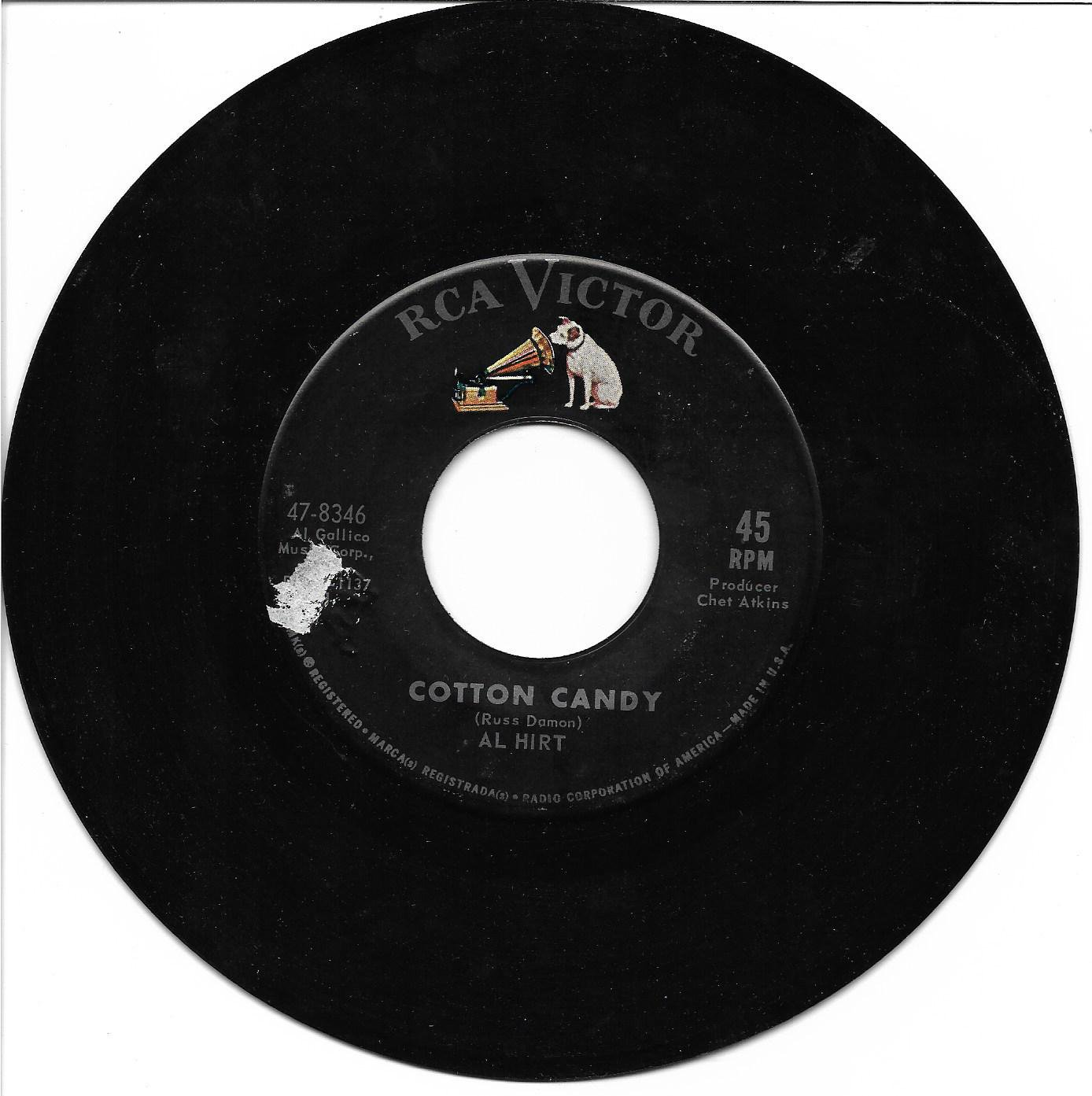 "Al Hirt: ""Cotton Candy"" / ""Walkin"""" - '64 Instrumental hit - plays well!"