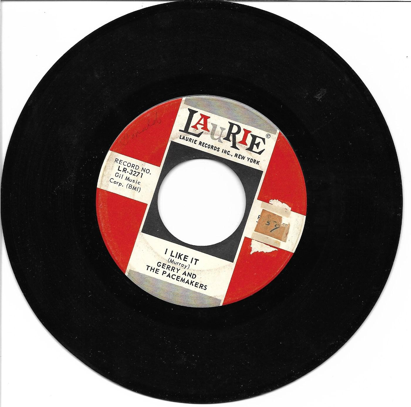 """Gerry & The Pacemakers: """"I Like It"""" / """"Jambalaya"""" - their '64 hit - plays NM!"""