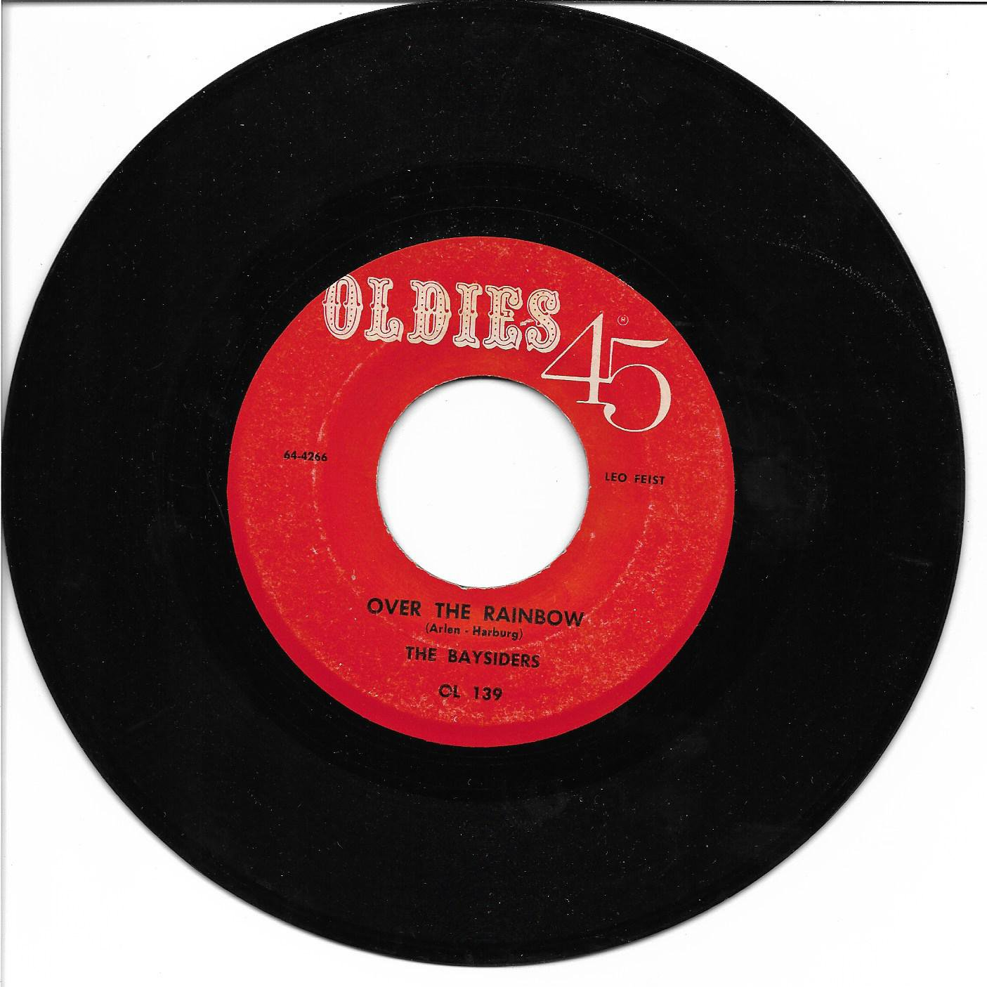 """Baysiders: """"Over The Rainbow"""" / Jackie Walker: """"Take A Dream"""" - rare - plays well!"""